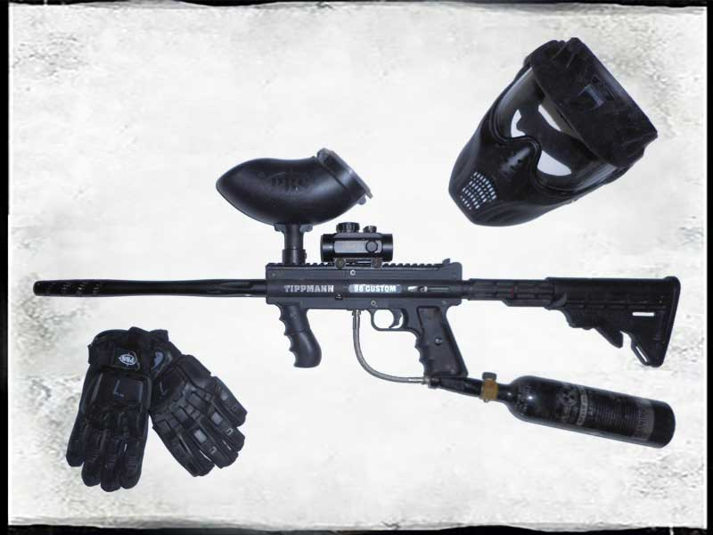 Paintball Radary - set military
