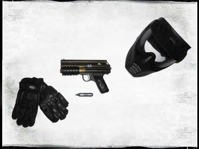 Paintball Radary - set PGP